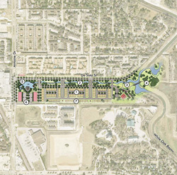 Concept Plan Bayou Boulevard at White Oak