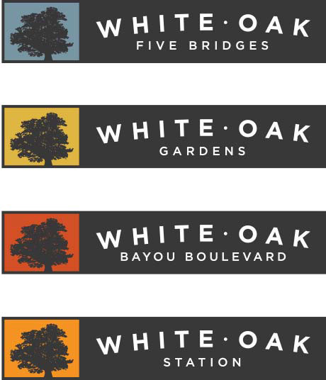 White Oak wayfinding