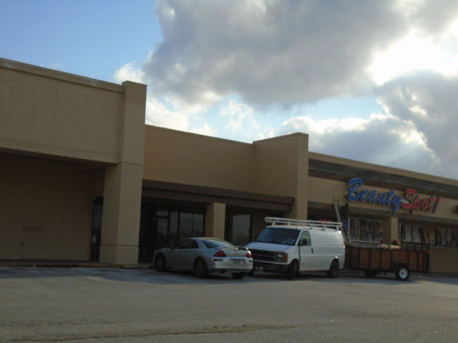 Evergreen Shopping Center – renovations