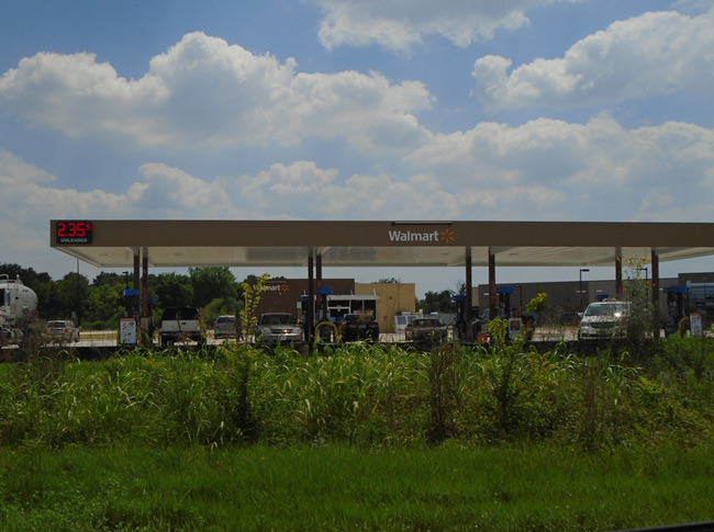 New Walmart Fuel Station