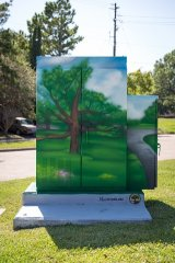 Antoine at Long Creek - Mini Murals by UP Art Studio