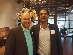 Brian Desilets (DeepWater Bookkeeping) and Vik Chadha (TXMGMT Consulting, LLC)