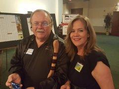 Ed Jones (Jones Automotive) and Jan Whittington (NNMD Staffer)