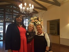 Ruby Glass (NNMD Staffer), Cindy Jennings (Carlton Staffing) and Joni Weir (Kelley Promotions)