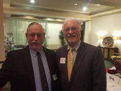 Robert Burchfield (NNMD Board Member) and Andrew Johnson III (Johnson Petrov, LLP)