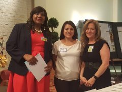 Ruby Glass, Jan Whittington and Rosy Rosales