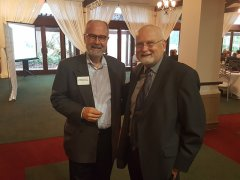 Jim Noteware (Noteware Advisors) and Wayne Norden (NNMD President)