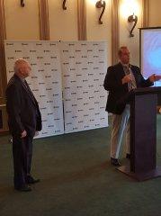 Wayne Norden, NNMD President and Speaker, Jeff Lindner