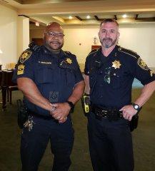 Sgt. McClerkin and Deputy Grandstaff