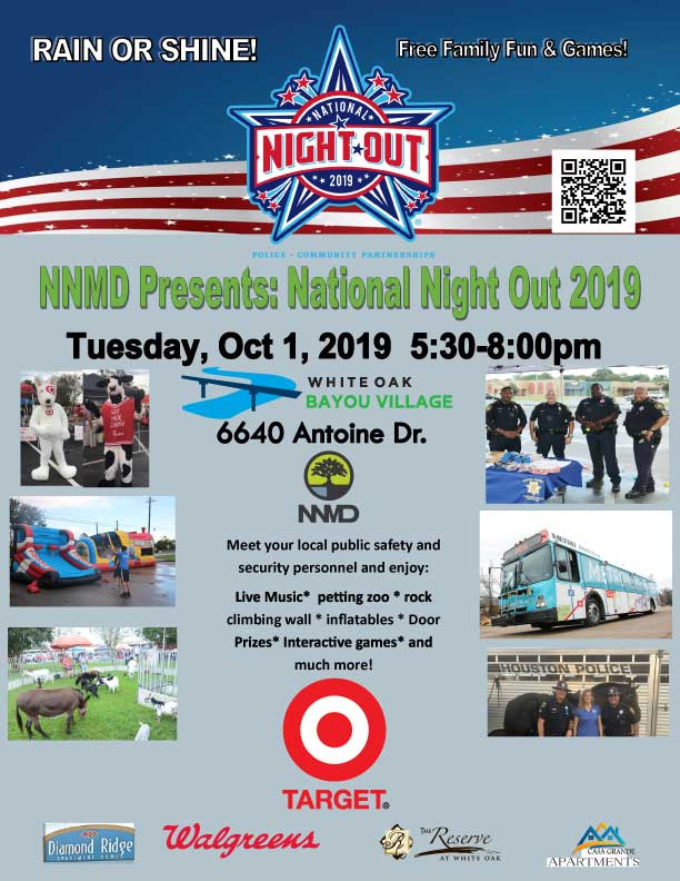 National Night Out at NNMD 2019