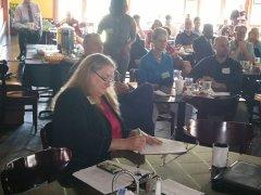 Eileen Egan at NNMD's Business Network Breakfast
