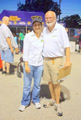 Shalu Aggarwal and Wayne at National Night Out