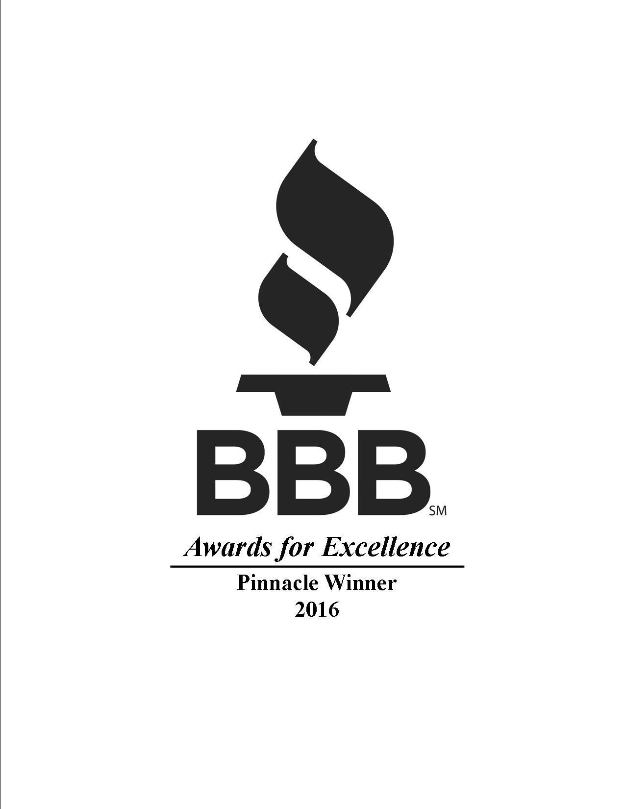 BBB Pinnacle 2016 Black Portrait