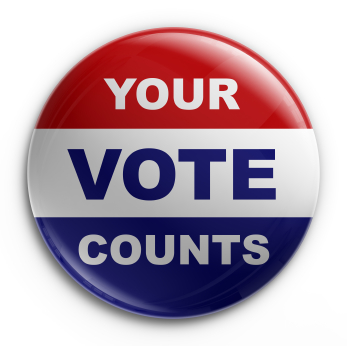 your vote counts 5