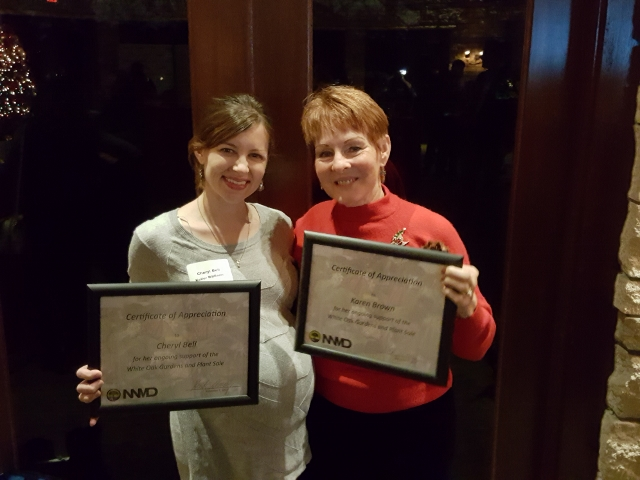Butterfly Garden Volunteers honored at the Business Network Celebration